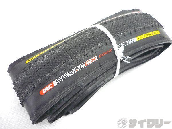 タイヤ SERAC CX EDGE TUBELESS 700×32c