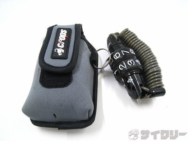 ワイヤーロック MANTIS-MINI φ3x1500mm ブラック