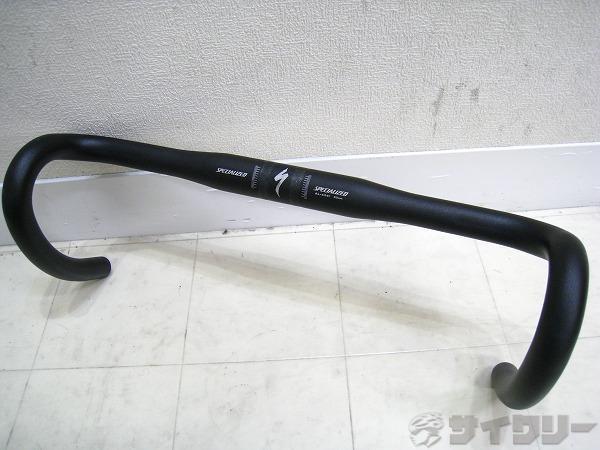 ドロップハンドル 420/31.8mm アルミ ブラック