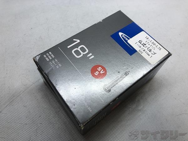 仏式チューブ 18×1.50-1.75