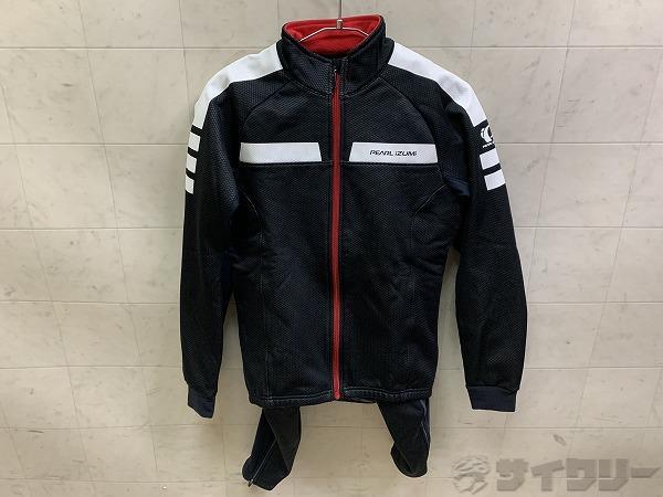 ウィンドブレークジャケット Mサイズ ブラック/ホワイト
