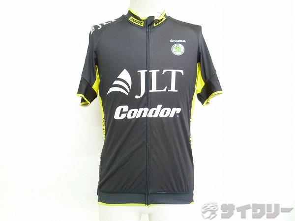 半袖ジャージ JLT CINDOR Lサイズ ブラック