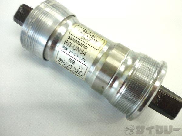 ボトムブラケットBB-UN54 68mm JIS 107mm