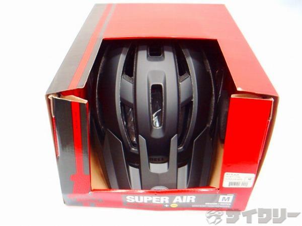 ヘルメット スーパー AIR ミップス  ブラック M(55-59cm)