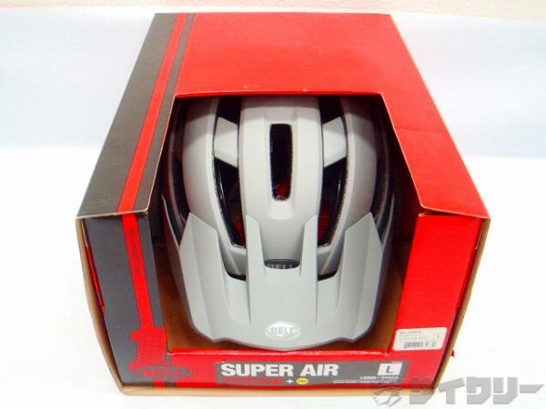ヘルメット スーパー AIR ミップス  グレー L(58-62cm)