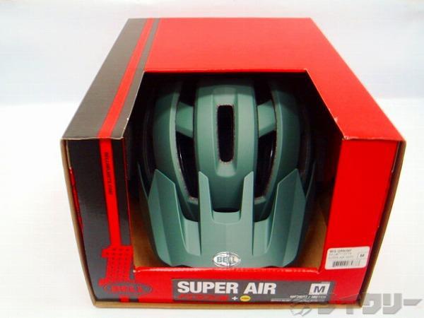 ヘルメット スーパー AIR ミップス グリーン/インフラレット M(55-59cm)