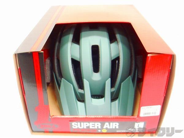 ヘルメット スーパー AIR ミップス グリーン/インフラレット L(58-62cm)