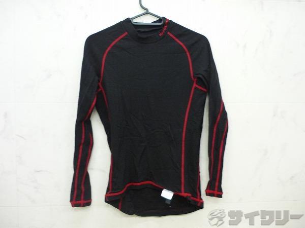 インナーシャツ ブラック/レッド サイズ:S