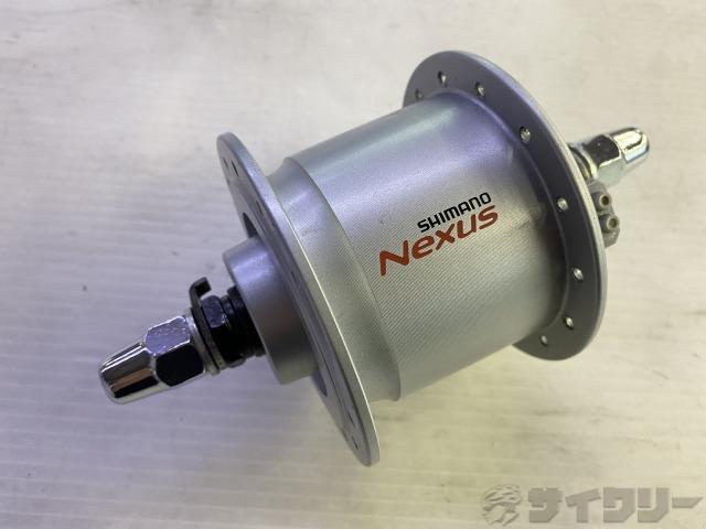 ハブダイナモ DH-C3000-3N-NT NEXUS 100mm/28H ※動作未確認