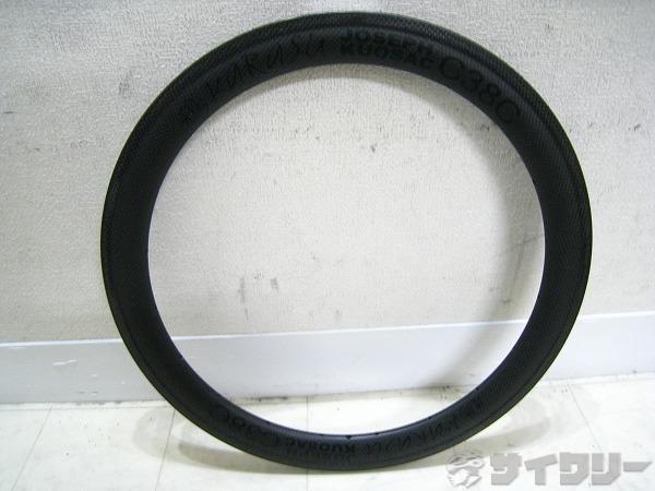 カーボンクリンチャーリム C38C 20インチ(406) 20H