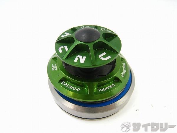 ヘッドセット ラディアント KR-1 1-1/8 1.5 テーパーインテグラル グリーン