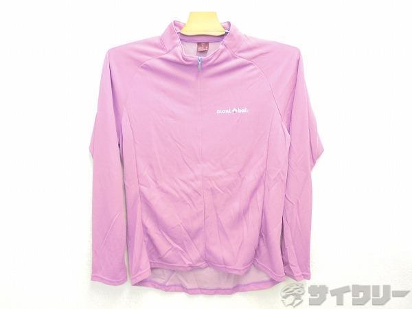長袖ジャージ L(レディス)サイズ ピンク