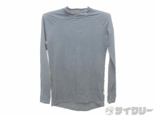 長袖インナーシャツ Lサイズ ブラック
