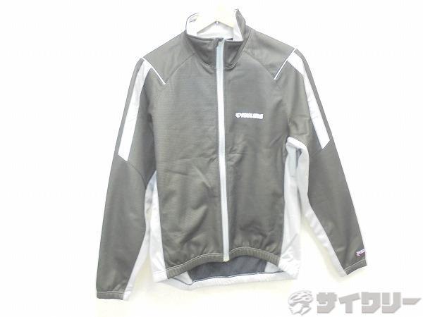 ウィンドブレークジャケット Lサイズ ブラック/グレー
