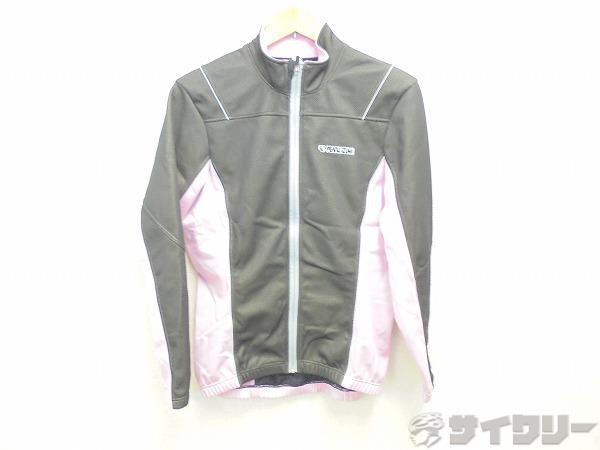 ウィンドブレークジャケット L(レディス)サイズ ブラック/ピンク