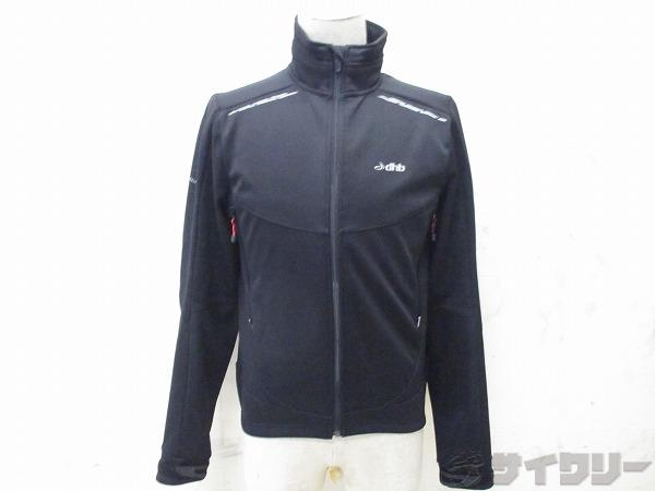 長袖フルジップジャケット WIND SLAM サイズ:S ブラック