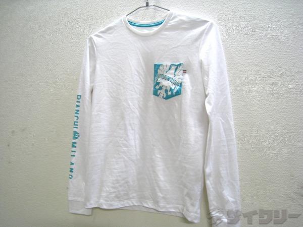 長袖Tシャツ XS ホワイト