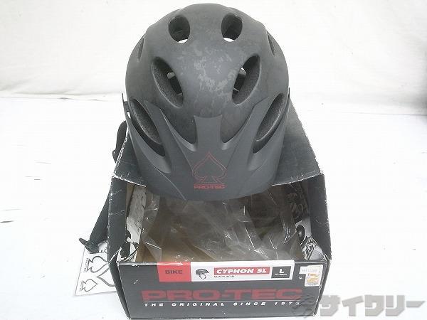 ヘルメット Cyphon SL Lサイズ ブラック