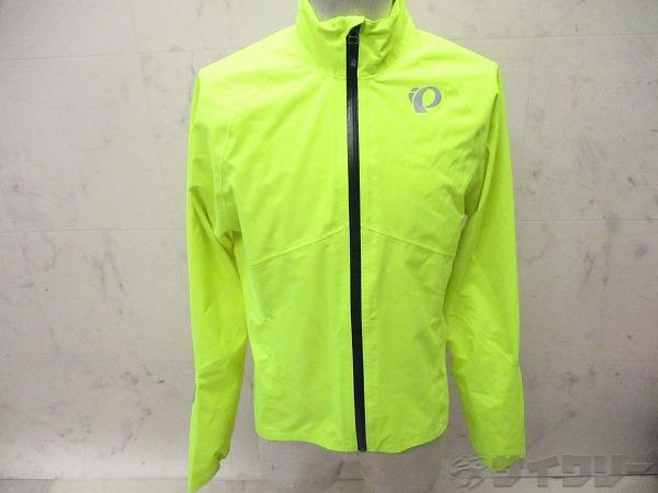 染み ウィンドブレイクジャケット サイズ:S 蛍光イエロー