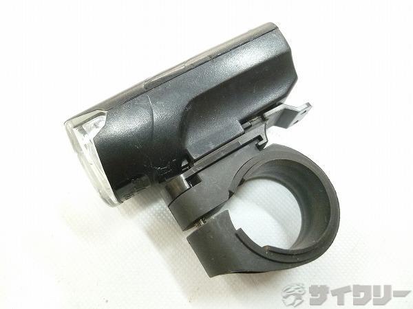 フロントライト ブラック 31.8mm径対応 単4×3本 点灯・点滅