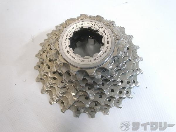 スプロケット CS-5600 105 10s/12-25t