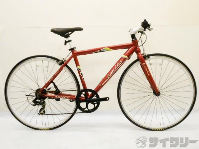 クロスバイク FUN レッド 480