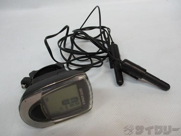 サイクルコンピューター CC-CD200 有線式 ※マグネット欠品