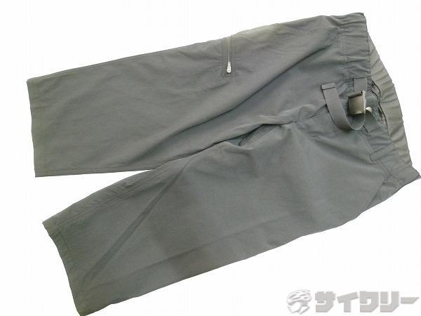 パンツ スリークォーター ブラック Mサイズ