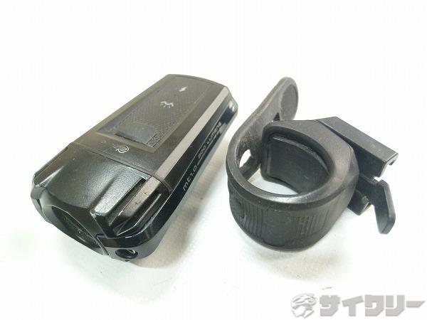 フロントライト MT1.0 ブラック USB充電タイプ 200ルーメン