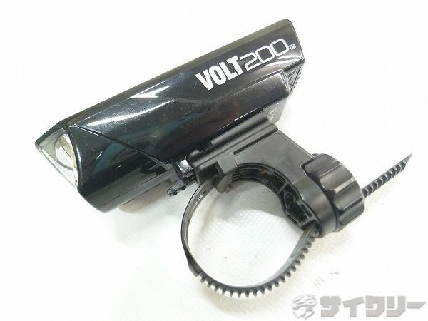 フロントライト HL-EL151RC VOLT200 ブラック ※欠品有