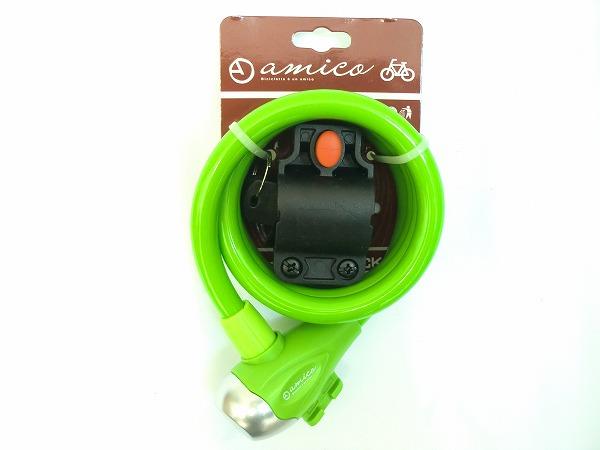 ワイヤーロック 561-B グリーン φ1.2mm×1200mm