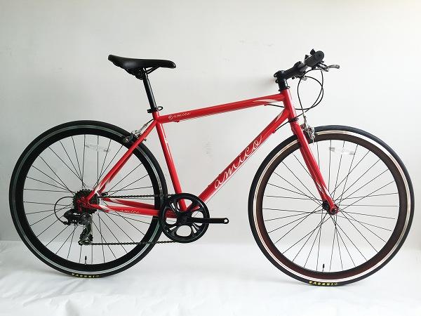 クロスバイク FUN 2.0 レッド 460
