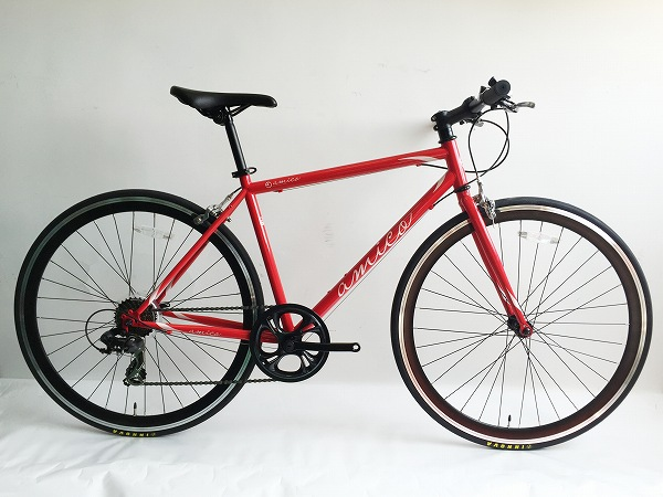 クロスバイク FUN 2.0 レッド 440