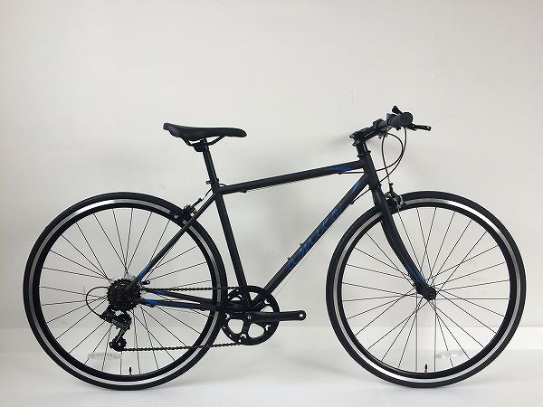 クロスバイク FUN 2.1 ブラック/ブルー 460