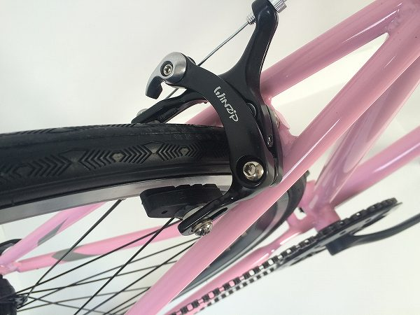 クロスバイク FUN 2.1 ピンク/グレー 380