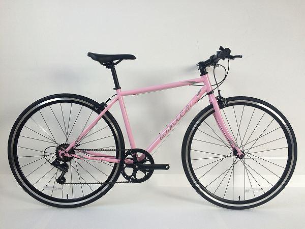 クロスバイク FUN 2.1 ピンク/グレー 460