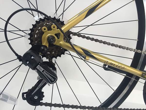 クロスバイク FUN 2.1 ゴールド/ブラック 460