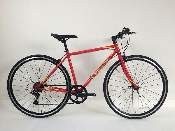 クロスバイク FUN 2.1 レッド/イエロー 460
