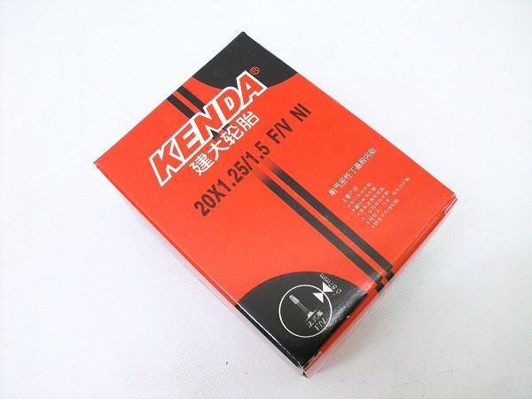 チューブ 20×1.25-1.5 仏式/バルブ長30mm