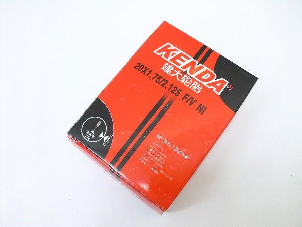 チューブ 20×1.75-2.125 仏式/バルブ長30mm