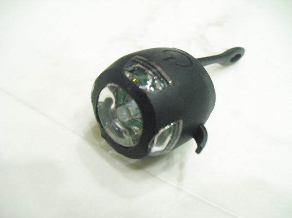 自転車用テールライト白_ボタン電池 RT-050W