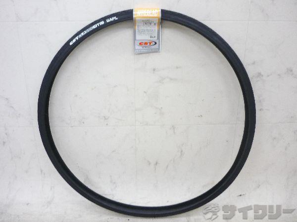 タイヤ 700×25C 黒/黒
